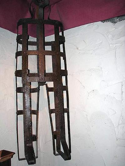 coffin torture