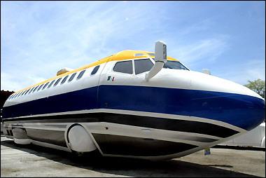 boeing 727 limousine