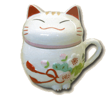luckey cat mug