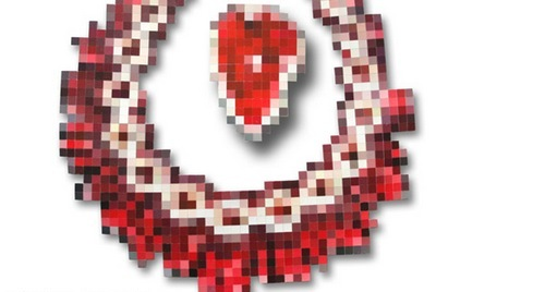 pixilated jewelry