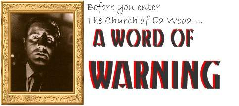 the church of ed wood
