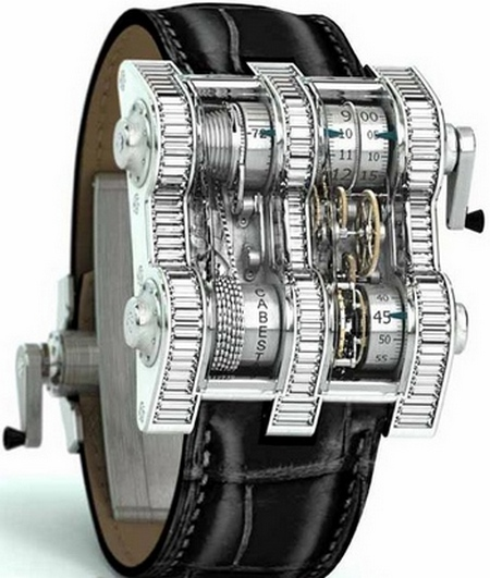 cebestan winch tourbillion vertica