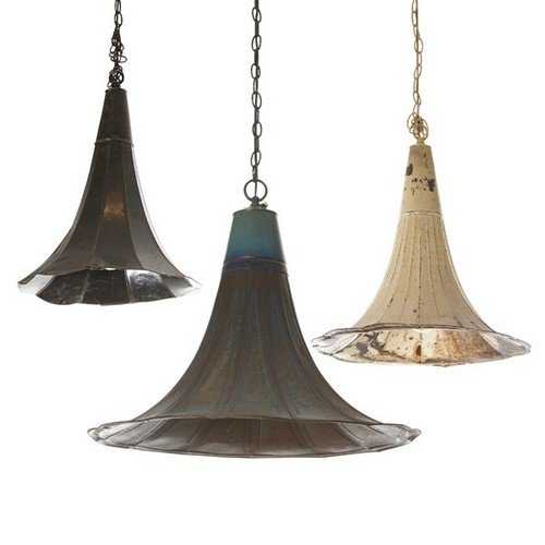 gramaphone chandelier