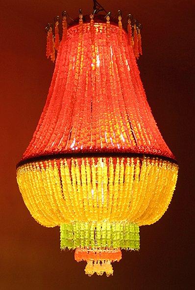 gummi bear chandelier