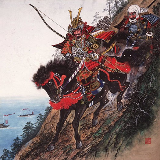 minamoto yoshitsune and the tengu