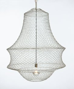 paperclip chandelier