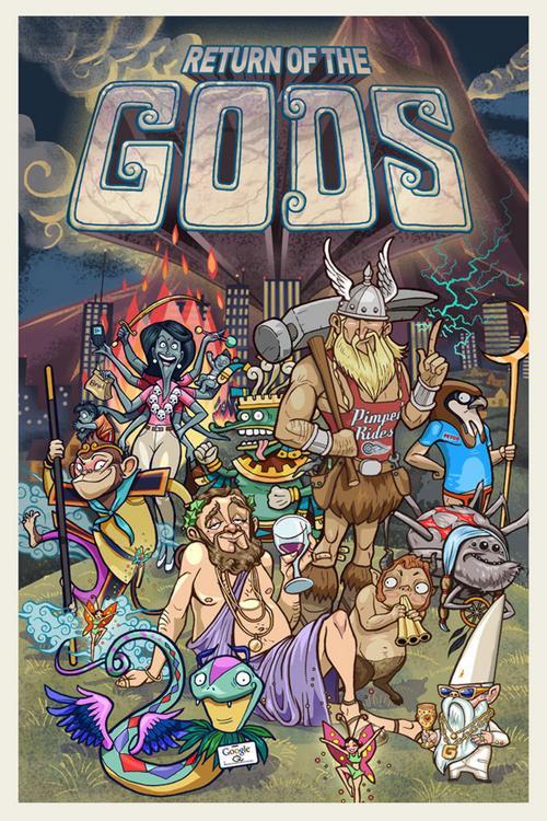 return of the gods show