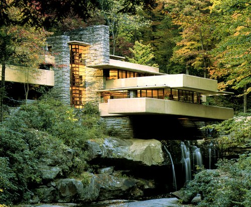 the falling water house