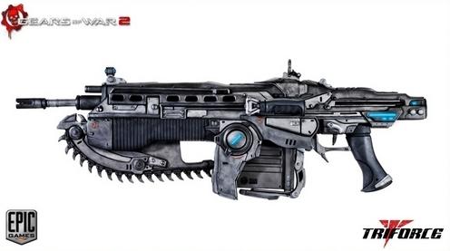 the lancer assault rifle