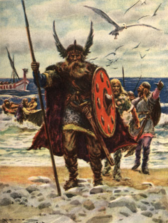 viking blood sacrifice blot