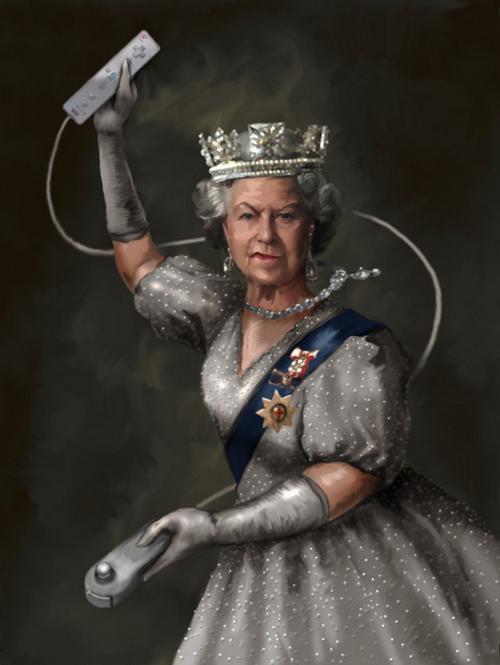 wii love the queen