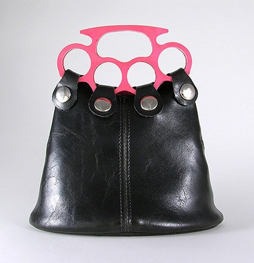 brass knuckle purse