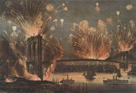 brooklyn bridge fire