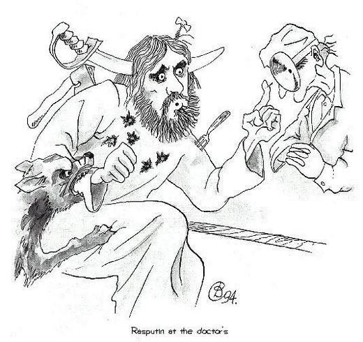 rasputin not easy to kill