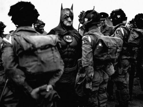 superheroes montage gallery