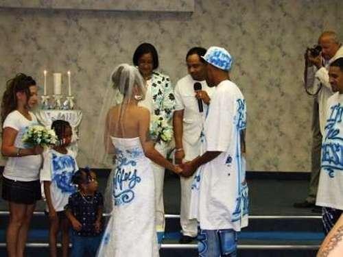 ghetto wedding theme