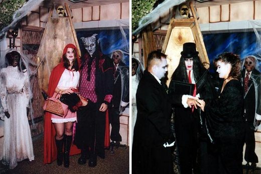 gothic wedding theme