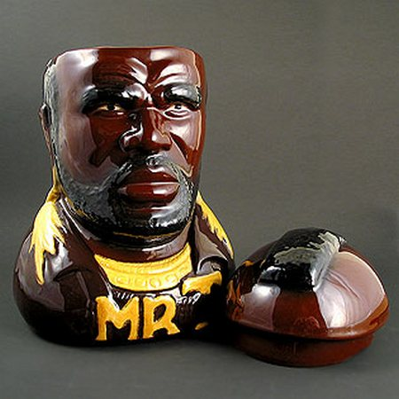 mr t cookie jar