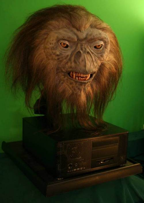 animatronic head