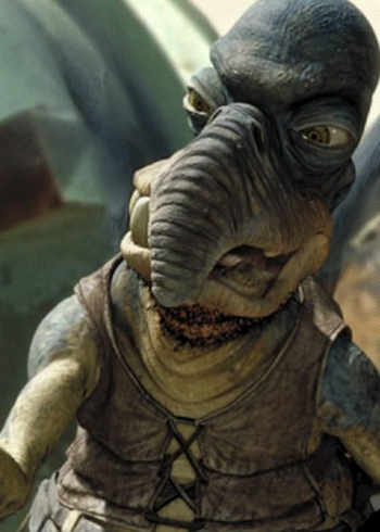 The Five Most Racist Star Wars Characters - Weird Worm