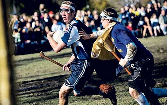 the sport of quidditch