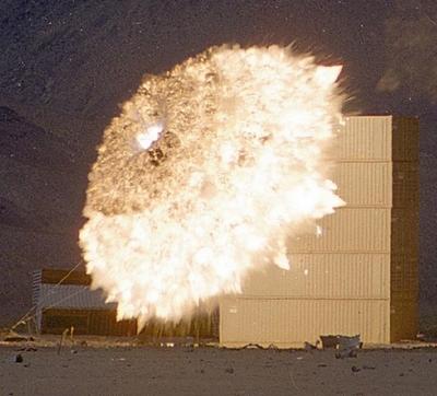 big explosions