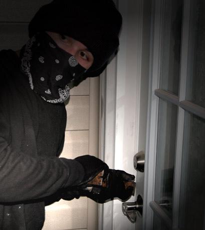 anonymous burglar