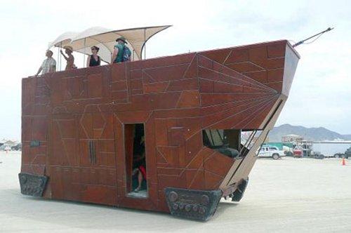 sand crawler car