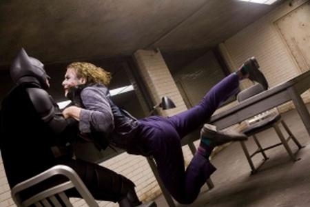 batman joker fight