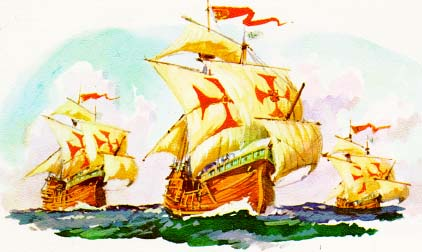 He Did Not Have Ships Called the Nina or the Pinta