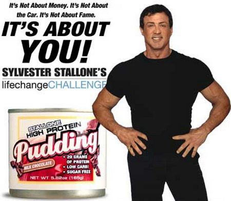 Sylvester Stallone's Pudding