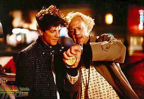 Eric Stoltz was Marty McFly