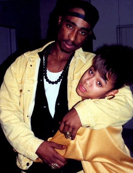 Jada Pinkett-Smith and Tupac Shakur