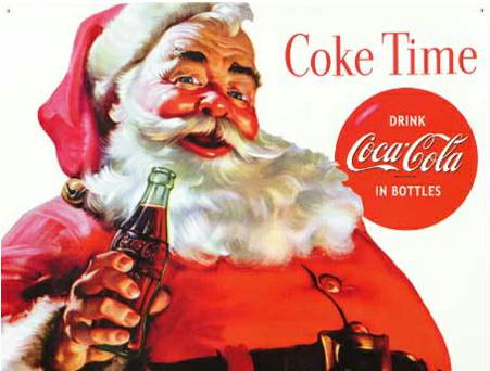 Santa Claus was Invented by Coke