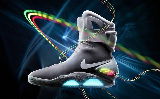 Self-Lacing Nike Sneakers