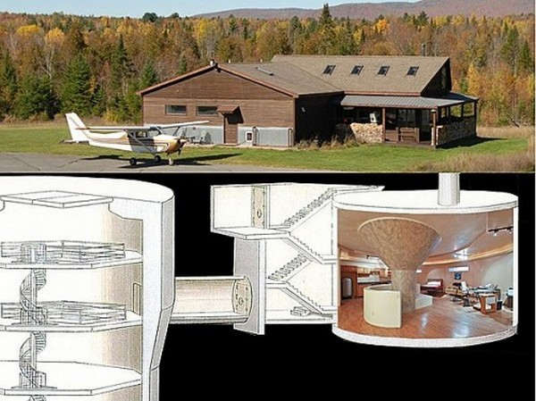 The Missile Silo House