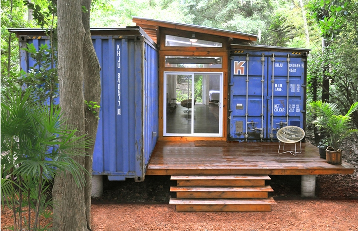 The Shipping Container House