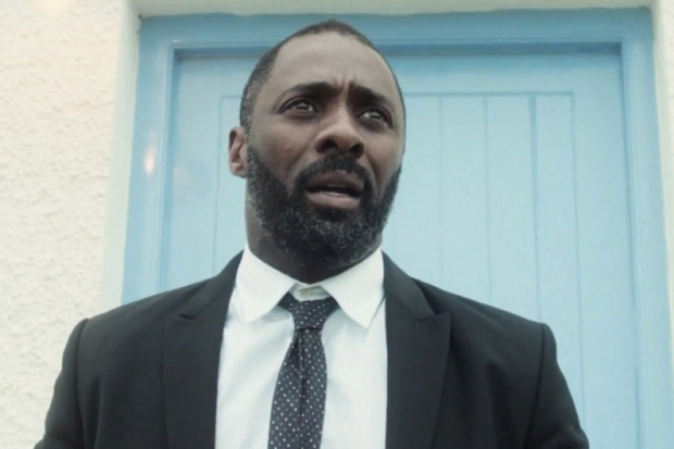 Idris Elba in a Mumford and Sons Video