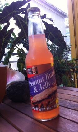 Peanut Butter and Jelly Soda