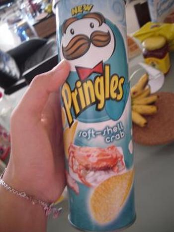 Soft-Shell Crab Pringles