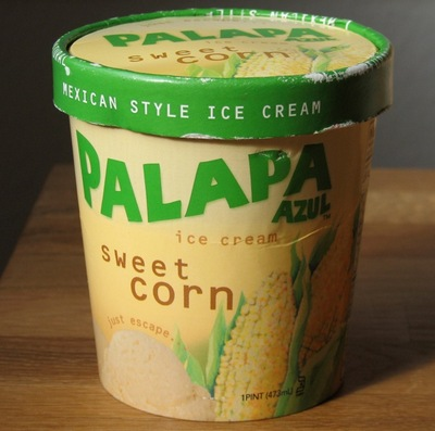 Sweet Corn Flavored Ice Cream