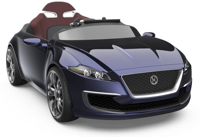 Henes Broon F-Series Luxury Kids Car