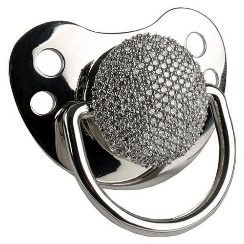 White Gold Pacifier