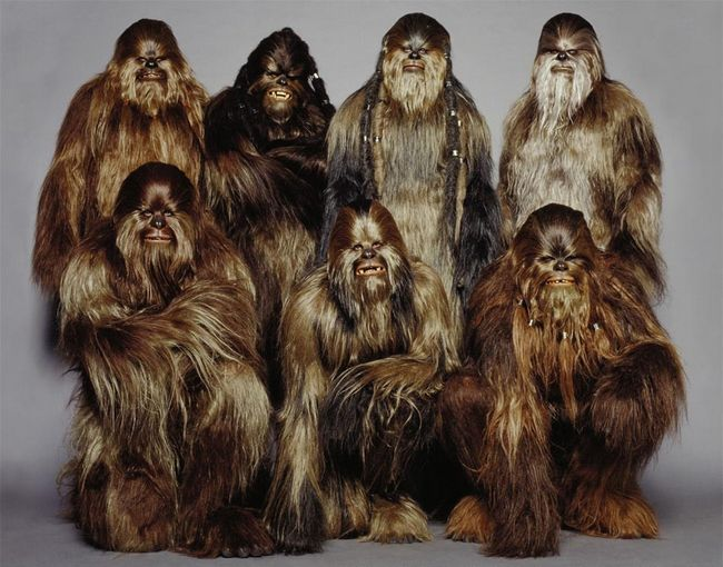 Wookiees Were Created for An Earlier Movie