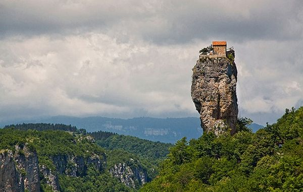 The Katskhi Pillar