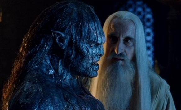 Those Were Real Forges Used by Saruman's Orcs