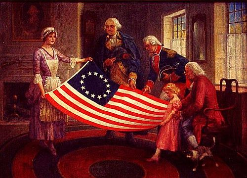 Betsy Ross Did Not Design the American Flag