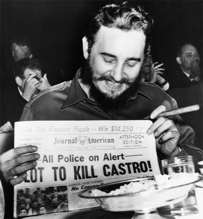 Fidel Castro and the Wetsuit