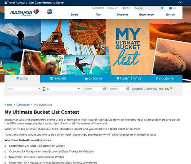 Malaysia Airlines -