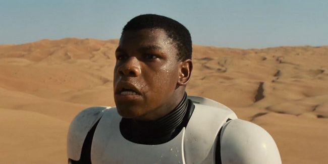 Fact: A Main Character is a Reformed Stormtrooper